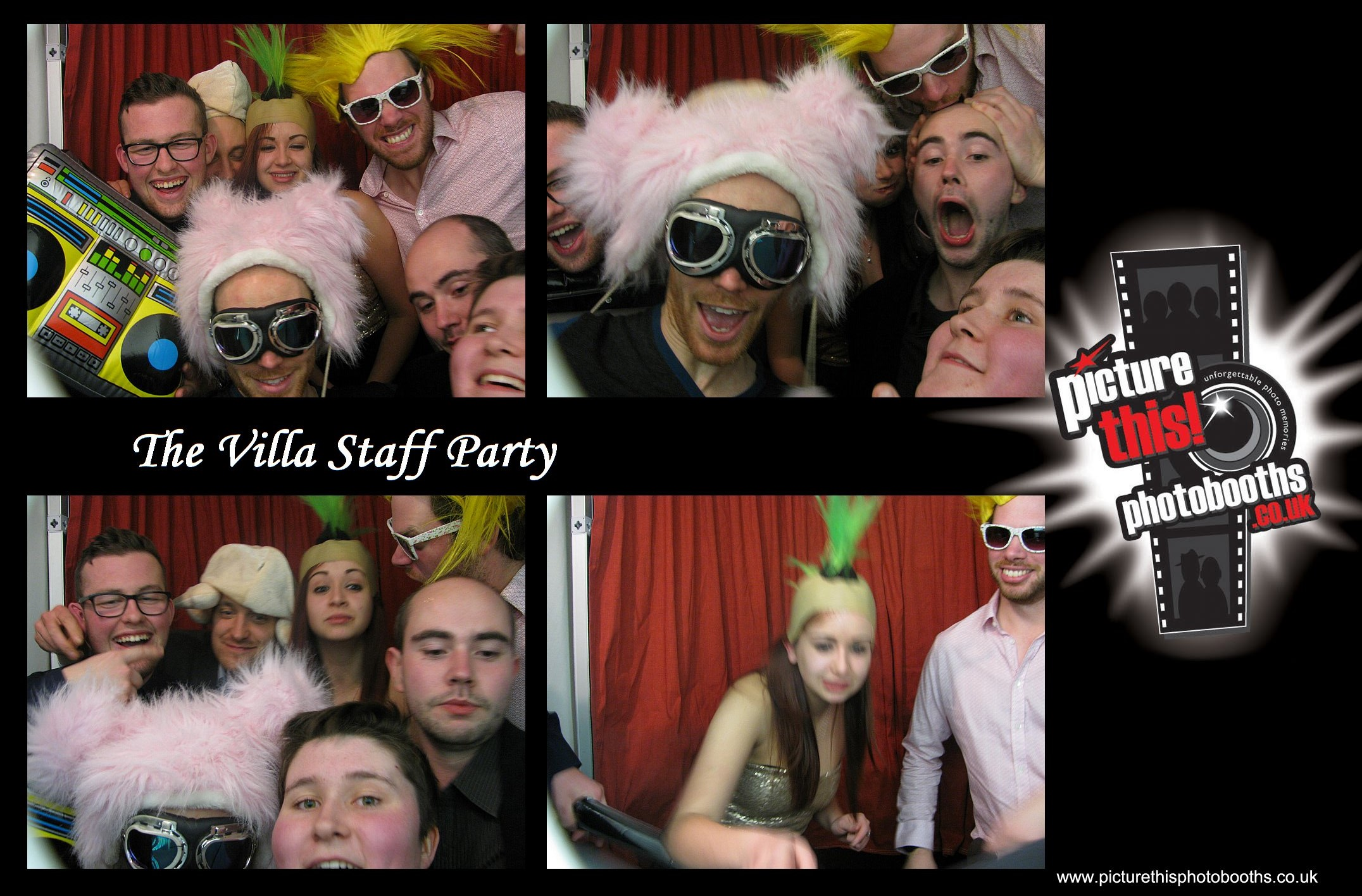 Villa Staff Party